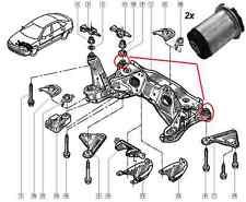 2 Pieces Front Subframe Bushes Renault Laguna Espace III 7700824709