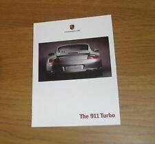 Porsche 911 Turbo brochure 1999-2000