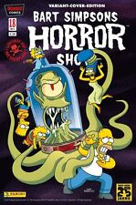 Bart Simpsons Horror Show #18 Variant-cover limitado 888 ex. Comic Action 2014
