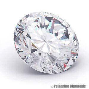 2.41 CT H-SI3 Very Good Cut Round Brilliant AGI Natural Diamond 8.26x8.32x5.34mm