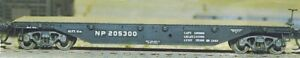 Central Valley - 41' Flatcar - Kit -- Northern Pacific pkg(2) - HO