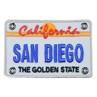 "San Diego Patch - California License Plate, CA Badge 2.75"" (Iron on)"