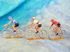 3 figurines de cyclistes en aluminium COFALU - SALZA ? Lot 8 (ref V31)