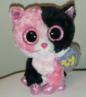 """Ty Beanie Boos - DAZZLE the Cat 6"""" (Justice Exclusive) NEW MWMT"""
