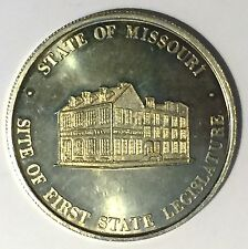 C5493     STATE of  MISSOURI  COPER NICKEL    MEDAL, THOMAS  H. BENTON