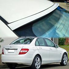 Painted FOR MERCEDES BENZ C-Class W204 Sedan ROOF SPOILER C350 REAR 08-13 K ◣