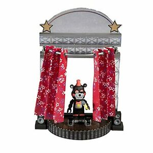 FNAF McFarlane Five Nights at Freddy's Star Curtain Stage Small Construction Set