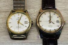 Lot of 2 Tissot & Fils Visodate Seastar Automatic men's Cal.784 watch