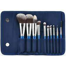 MSQ Professional 10PCs Makeup Brushes Set Foundation Cosmetic Tool Synthetic Bag