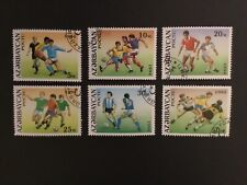 Azerbaycan Football 1994 Stamps x 6 values CTO