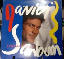 DAVID SANBORN A Change Of Heart Released 1987 Vinyl/Record  Collection US presse
