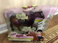 NRFB Bratz Kidz Horseback Fun Jubilee W/  Saddle,Brindle and Brush  NEW