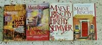 4 MAEVE BINCHY BOOKS NO DOUBLES FREE SHIPPING