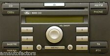 Ford Focus Fiesta Transit Connect 6000 CD Radio Player +Code Warranty 3Month