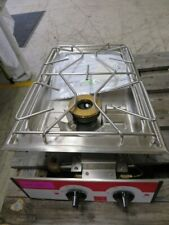 Salvis twin Burner commercial kitchen catering twin gas hob - food van/home