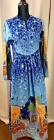 Vintage Dress Wearable Art Mel Mortman Dress Wearable Art  (A)