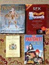 More details for terry pratchett bundle incl discworld map, sfx magazine, mort, the last hero