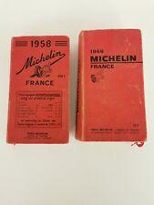 Guides Michelin 1958 1966