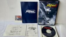 AIR COMBAT 2 SPECIAL for FM TOWNS Marty 3D Shooter game Boxed set/tested-a517-