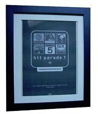 WEDDING PRESENT+Hit Parade 1+POSTER+AD+ORIGINAL 1992+FRAMED+EXPRESS GLOBAL SHIP