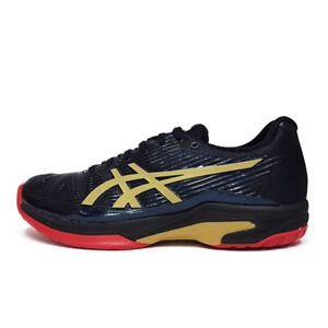 Asics GEL Solution Speed FF L.E Women's Tennis Shoes Black Racket 1042A047-001