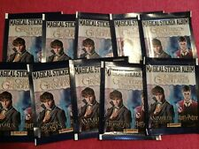 10 Packets Packs of Fantastic Beasts The Crimes of Grindelwald Stickers PANINI