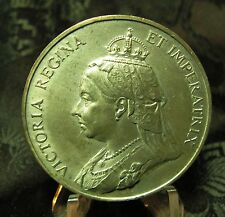 1837-1897 Victoria Commemorative Medal Jubilee Year Head  VERY RARE