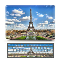 "Paris Eiffel Tower Design Hard Case Shell for Macbook Air Pro 11"" 13"" 15""+Retina"