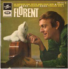 "FLORENT ""TYROLIAN JERK'S"" 60'S EP COLUMBIA 1813"