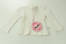 Pampolina Camiseta Cuello Cisne Manga Larga Blanco Chicas Talla 56 NUEVO
