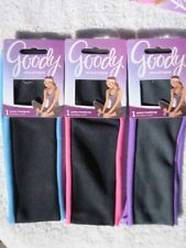Goody Athletique Soft Wide Fabric Active Headwrap Headband Workout Band Black