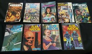 MISC IMAGE COMICS 9PC (FN) SPAWN, LOST IN SPACE, KING KONG, ALIEN NATION 1990-97