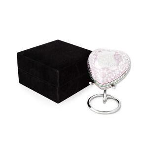 Baby Keepsake Urn for ashes Teddy heart with velvet box.  Was $89.95