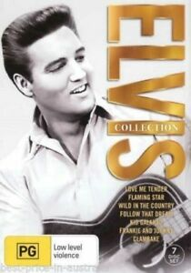 ELVIS [Presley] Collection DVD 7-MOVIES MOTHER'S DAY GIFT BOX SET BRAND NEW R4