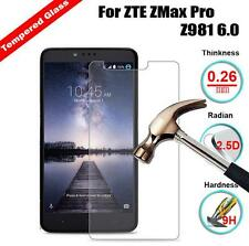 For ZTE ZMax Pro Z981 9H Explosion HD Tempered Glass Screen Protector Film Cover