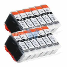 12 PGI-5 Black PGI-5 Ink Tank for Canon PIXMA MX700 IP3300 IP3500 PGI-5 PGI-5BK
