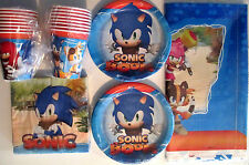 SONIC BOOM ! Sonic The Hedgehog Birthday Party Supply Pack Kit 16