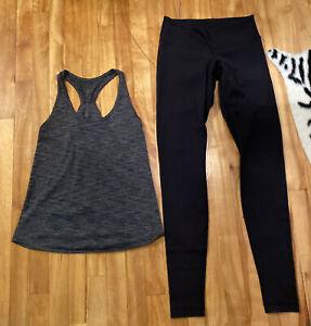 Lululemon Lot  Size 6 Top  &  Leggings