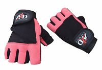 ARD Weight Lifting Gloves Strengthen Training Fitness Gym Exercise Workout B-Pnk