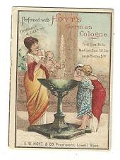Old Trade Card Hoyt's German Cologne Hoyt Lowell MA Mason Store Drugs Webster NY