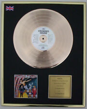 CROWDED HOUSE CD GOLD DISC RECORD LP DISPLAY FREE P&P!