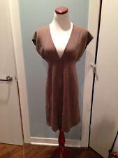 Classic Cashmere Blend Knit Dress From Banana Republic SzS Light Brown