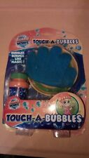 Touch-a-Bubble Gun by Bubble Workz Bubbles bounce like magic. Bubbles included