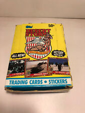 1991 ~Topps ~Desert Storm ~Trading Cards & Stickers ~ VICTORY SERIES