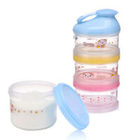Baby Formula Milk Powder Dispenser 4 Layers Infant Food Storage Container Hot