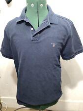 Gant Camisa Polo Clásico T TEE Smart Casual Liso Azul XL Top