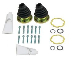 Pair Set of 2 Left CV Joint Boot Kits OE For Audi 80 90 4000 VW Quantum