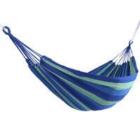 Portable Garden Canvas Hammock Canvas Bed Camping Hanging Porch Backyard Swing