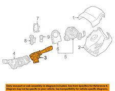 TOYOTA OEM 12-16 Camry-Windshield Wiper Switch or Lever 8465206340