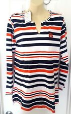 AUBURN TIGERS Womens Tunic Size Small Top Relaxed Fit Fleece Embroidered Logo
